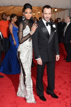 Chanel Iman & Tom Ford